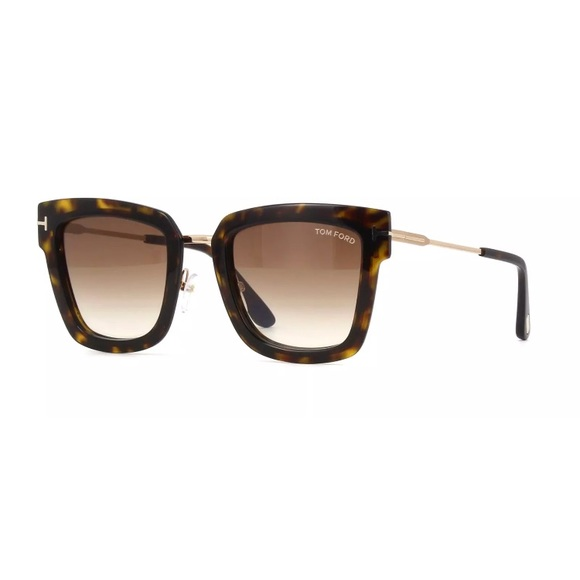 1d6a894c33 2018 Tom Ford Sunglasses Lara-02 FT0573 tortoise
